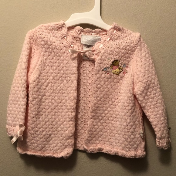 Baby girl Disney Knitted Pink Sweater